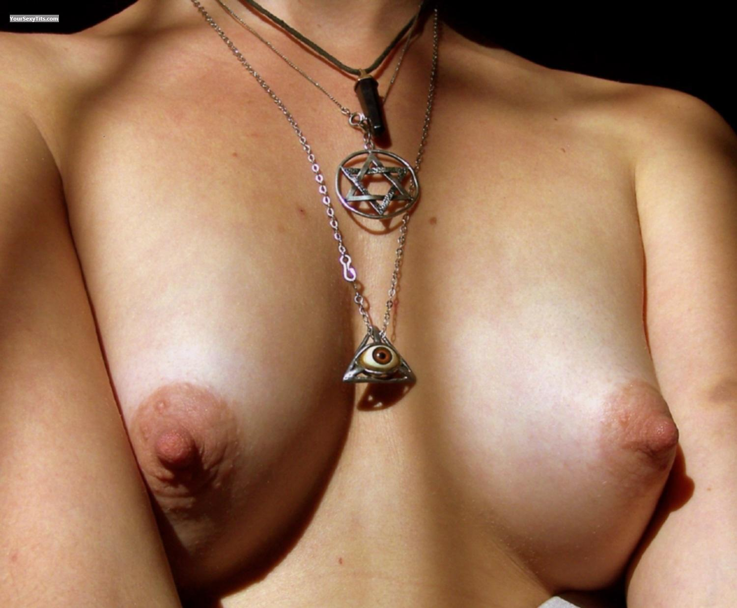 Tit Flash: Small Tits - Angel 81 from South Africa