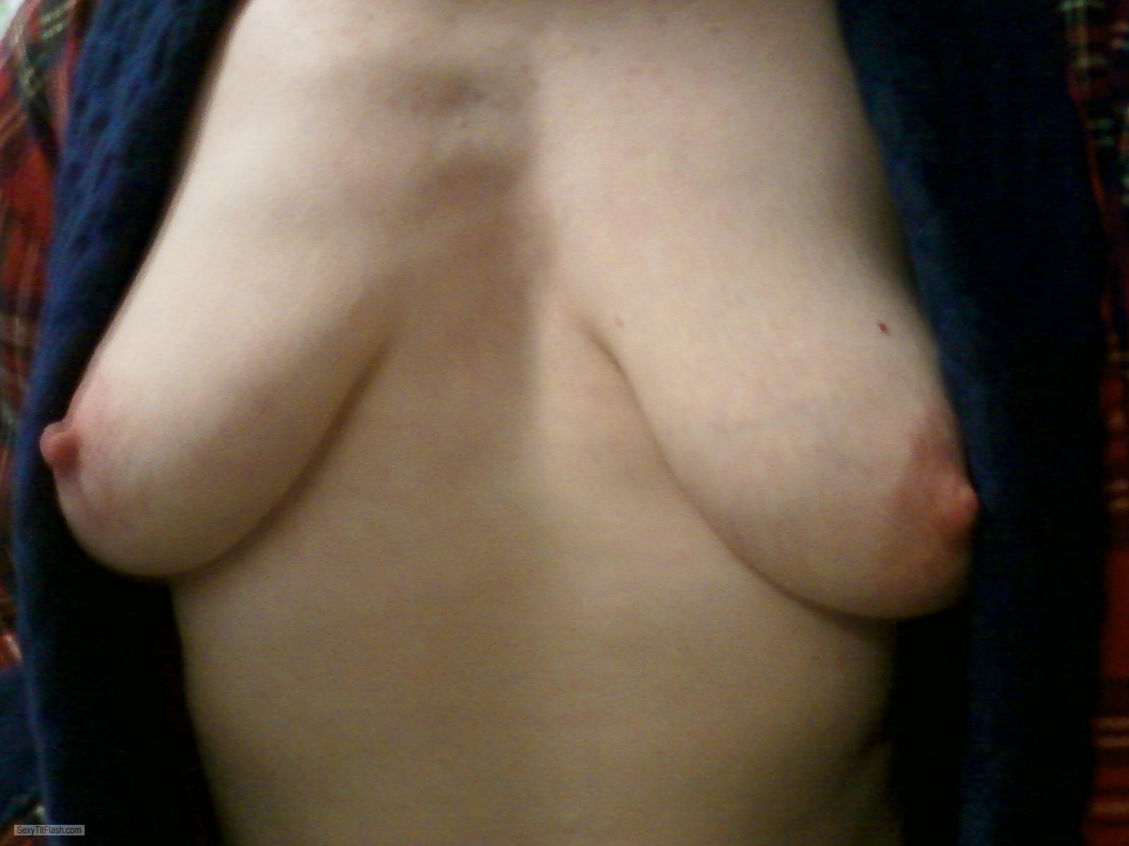 Small Tits Of A Coworker Selfie by Weatherwitch