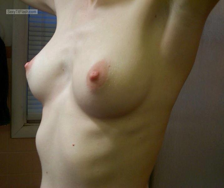 Small Tits Of My Wife Shy Wife