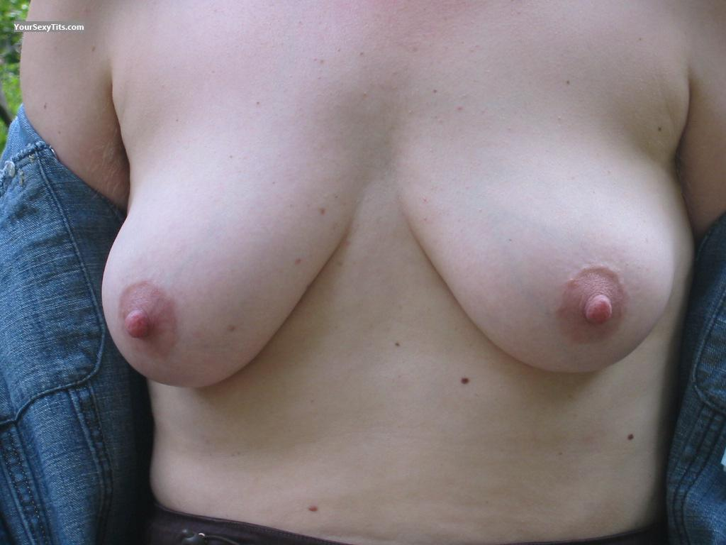 Tit Flash: Small Tits - Anha from Germany