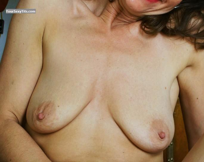 Tit Flash: My Small Tits (Selfie) - Trisha from United States