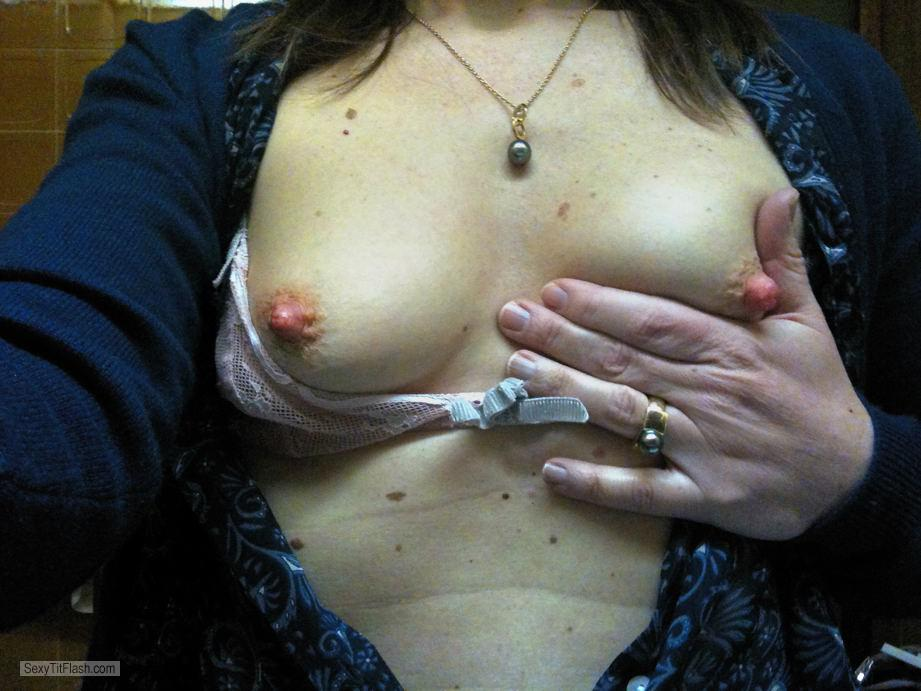 My Small Tits Selfie by Sarah