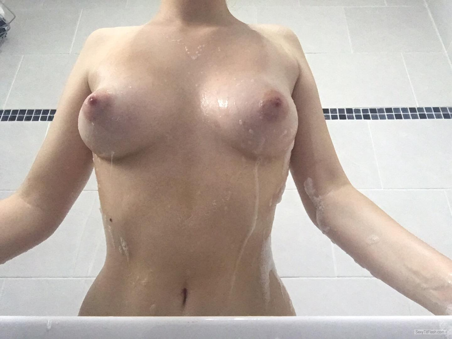 My Small Tits Selfie by Alexandra Logan