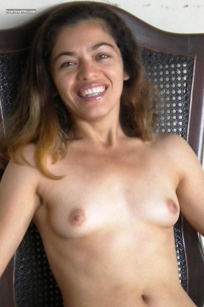 My Small Tits Topless Selfie by Real Ex Nun