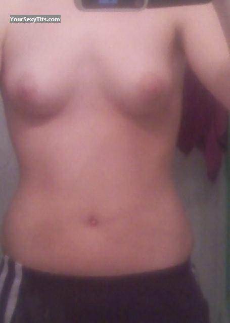 My Small Tits Selfie by Hokiegirl