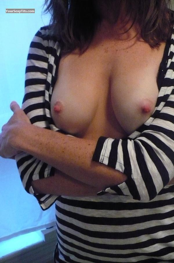 Tit Flash: Small Tits - SweetTits from Canada