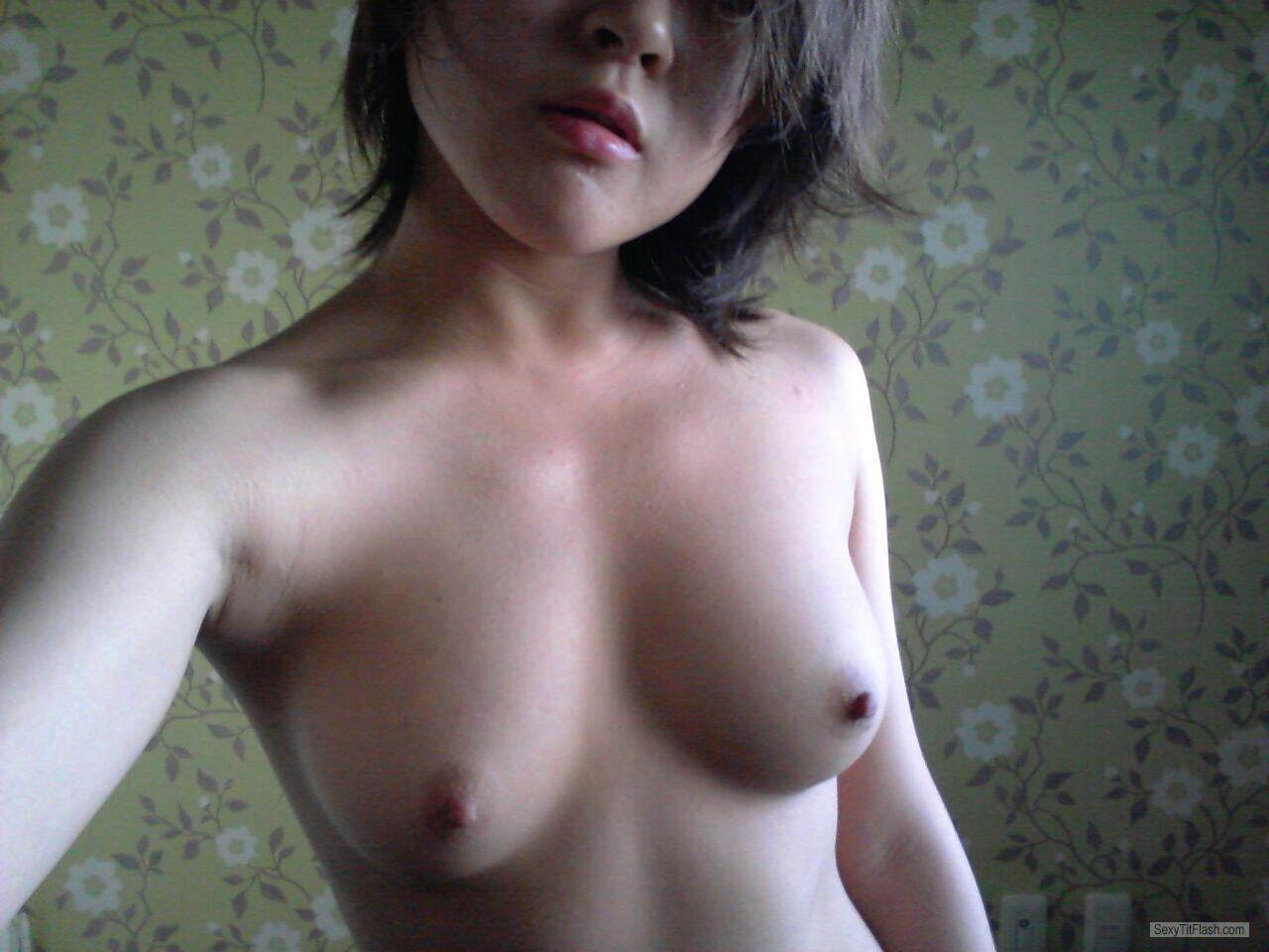 Tit Flash: Ex-Girlfriend's Small Tits (Selfie) - Koreasexy from United Kingdom