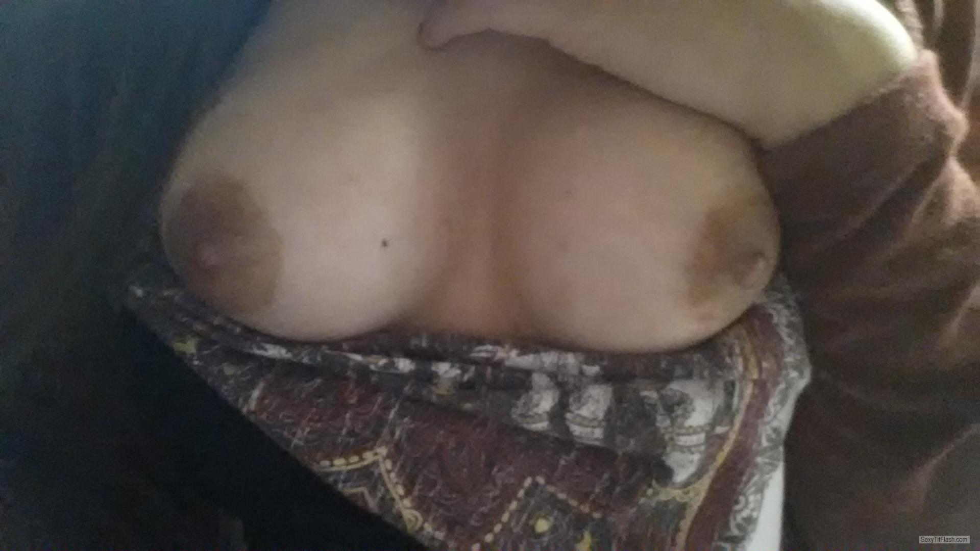 My Small Tits Selfie by Sexylatina