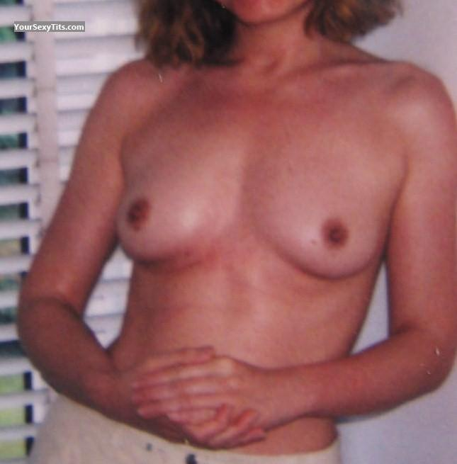 Tit Flash: Small Tits - GC from France
