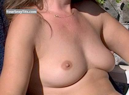Tit Flash: Small Tits - Louisa from Netherlands