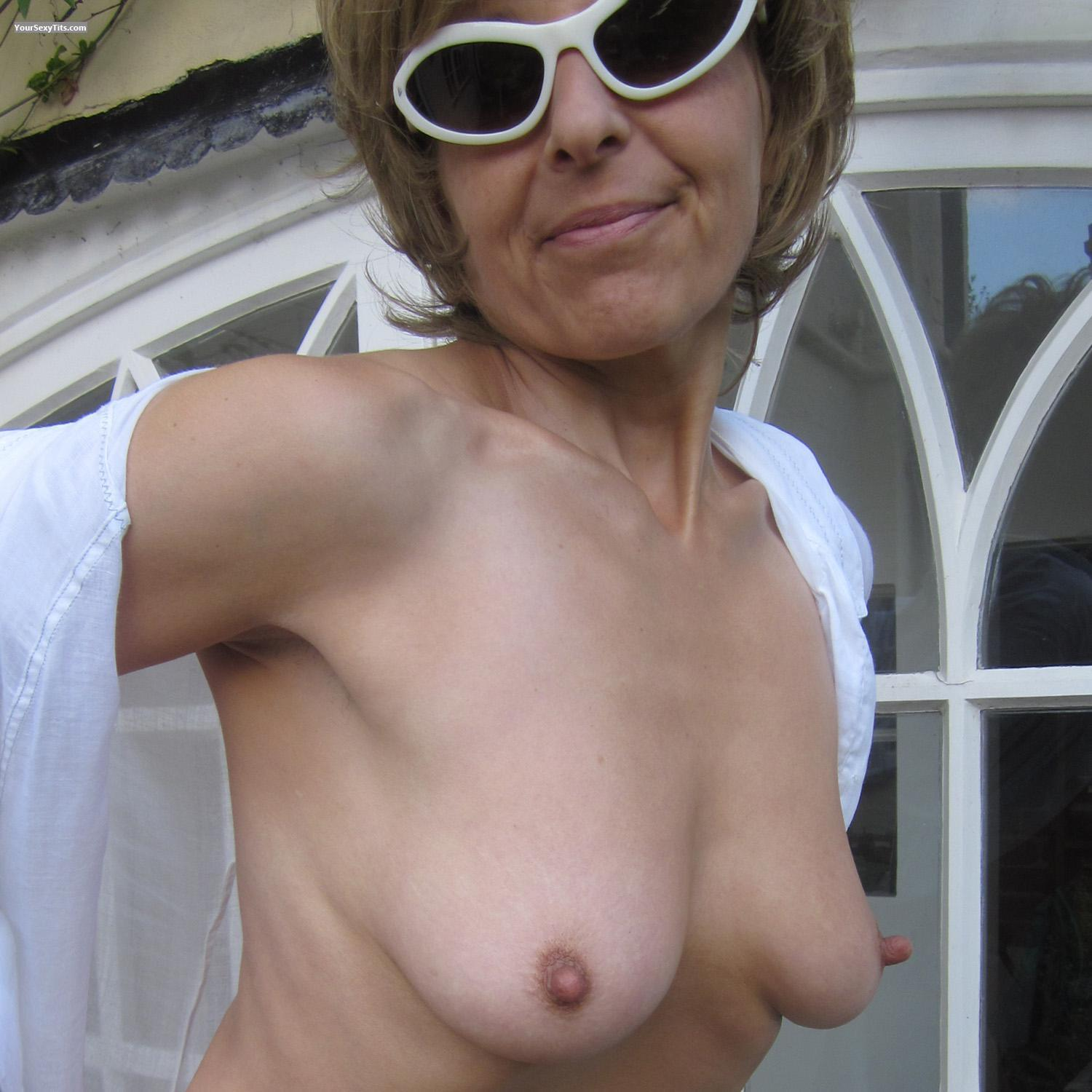 Small Tits Topless Lady Bee