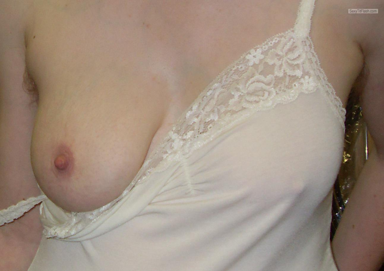 Tit Flash: My Friend's Small Tits - Niti from Switzerland