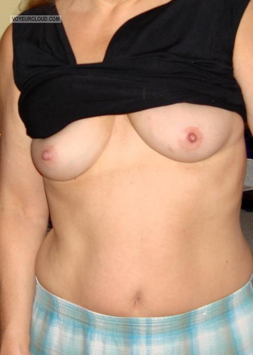 Small Tits Of My Wife Diane