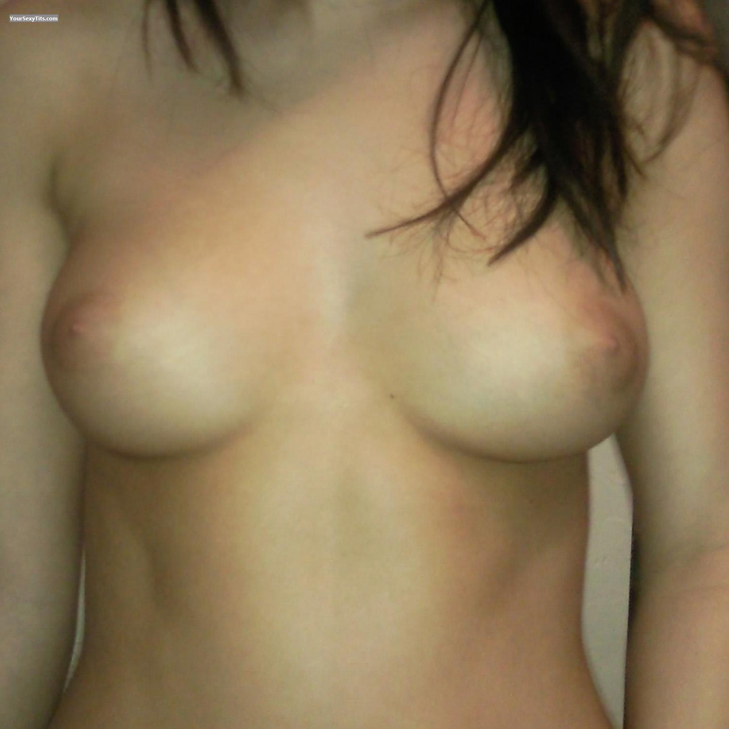 Tit Flash: Small Tits - Ndn Girl from Canada
