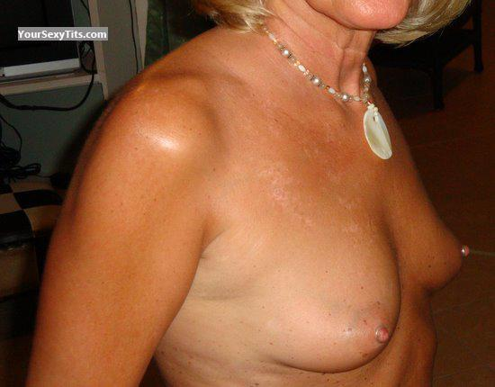 Tit Flash: Small Tits - Perky from United States