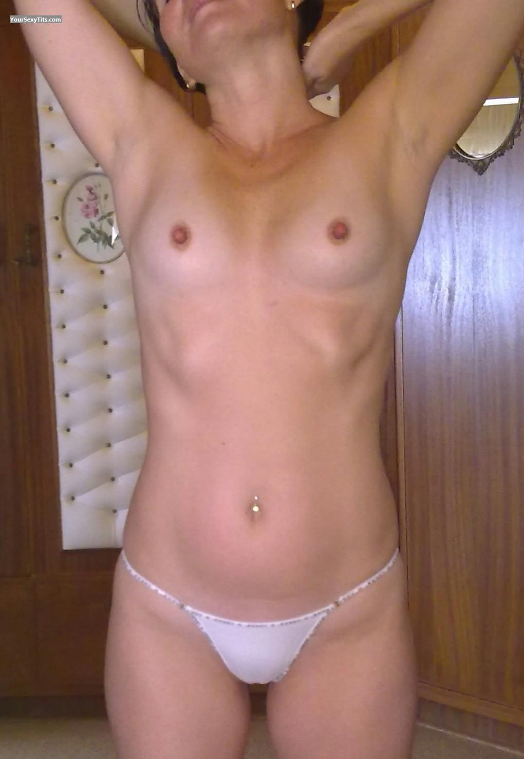 Tit Flash: Small Tits - Desiree (Des) from South Africa