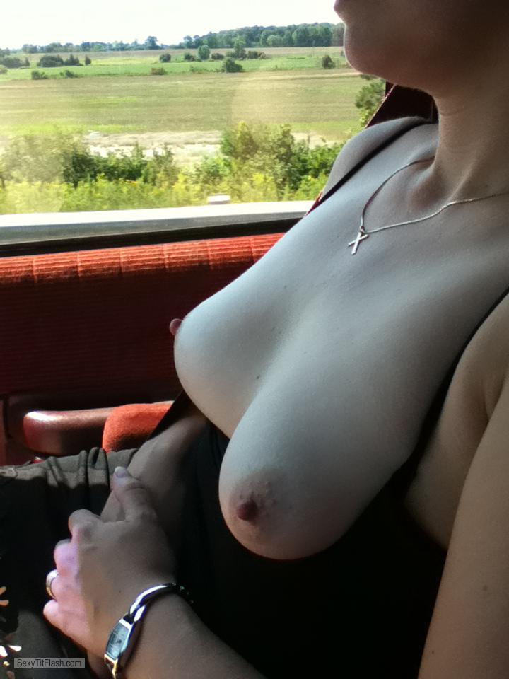 Small Tits Of My Wife Sunday Drive