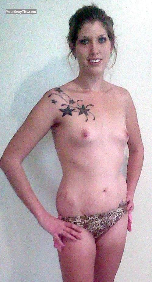 My Small Tits Topless Selfie by Morgan