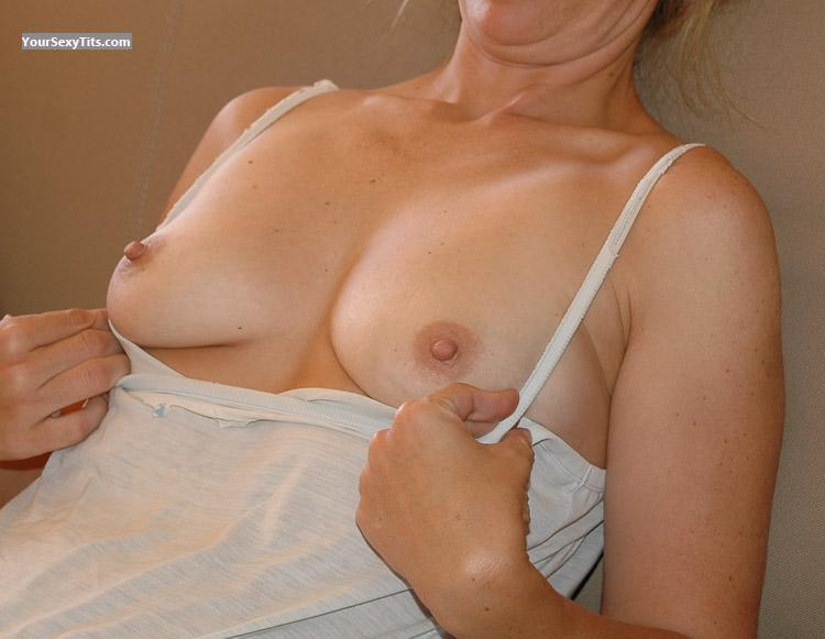 Tit Flash: Small Tits - JJ from United Kingdom