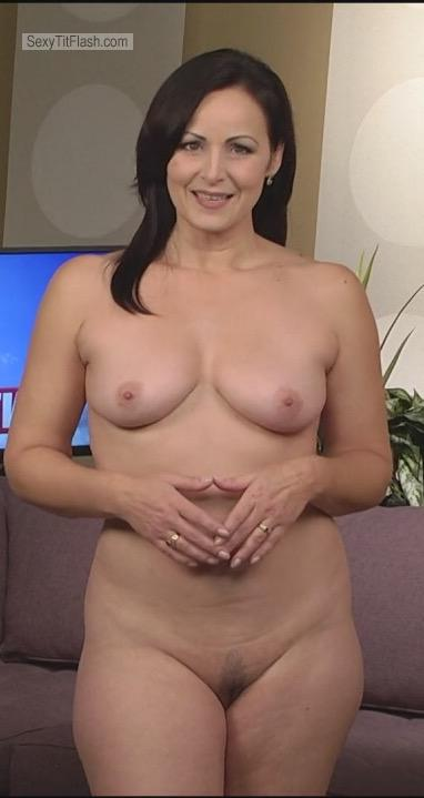 Tit Flash: My Small Tits - Topless Victoria from Canada