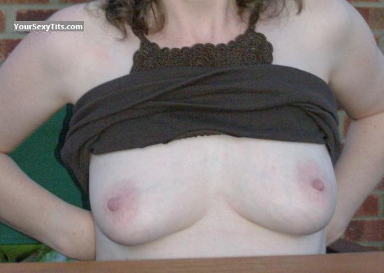 Tit Flash: Small Tits - Susan from United Kingdom
