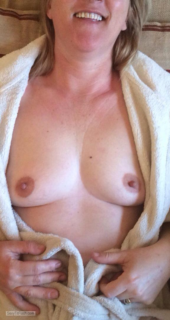 My Small Tits Topless First Timer