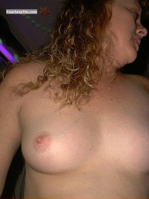 Tit Flash: Small Tits - Topless Carolina Mom from United States
