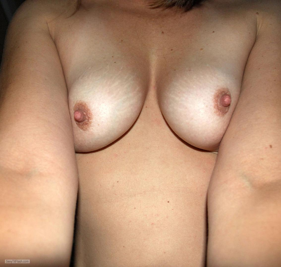 My Small Tits Selfie by Shy MILF