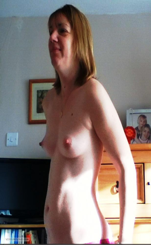 Small Tits Of My Girlfriend Topless Pene