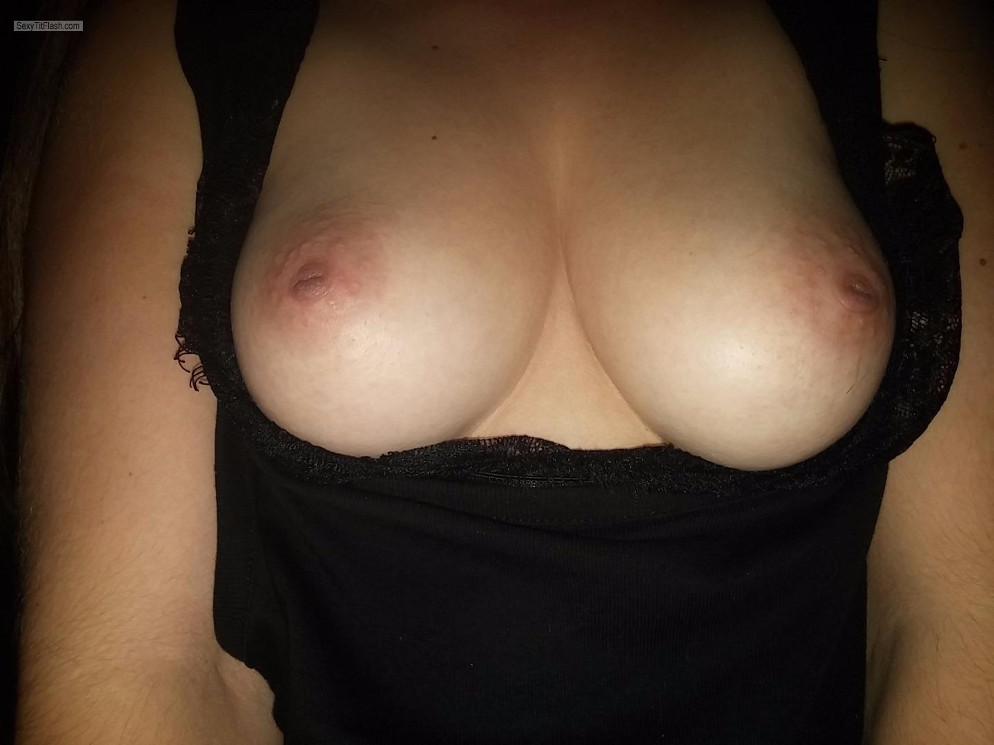 Small Tits Of My Wife Selfie by Sc