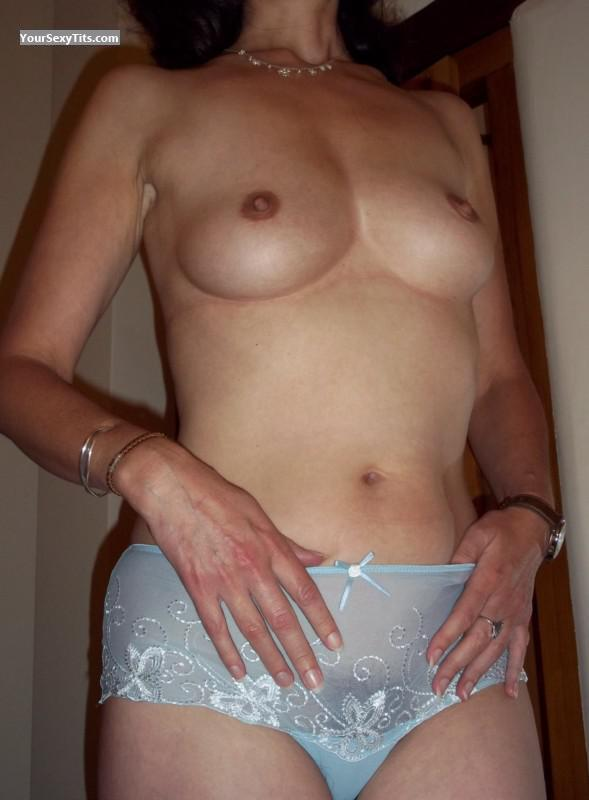 Tit Flash: Wife's Small Tits - Trudi from Canada