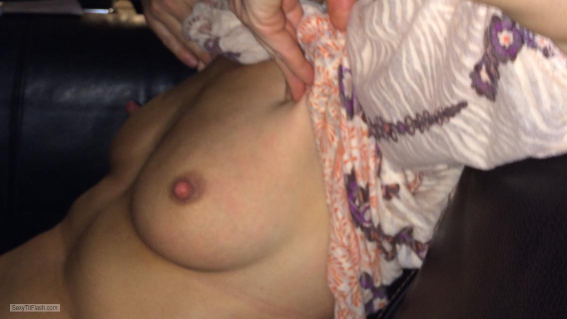 Tit Flash: My Small Tits - LoveToSuck from United Kingdom