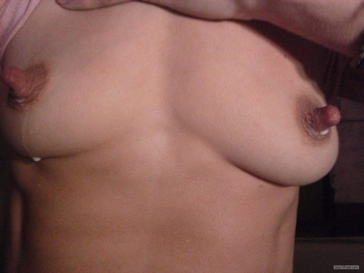 My Small Tits Selfie by Tasteme