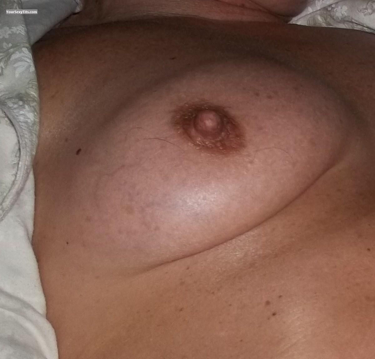 Tit Flash: Small Tits - Lisa from Canada