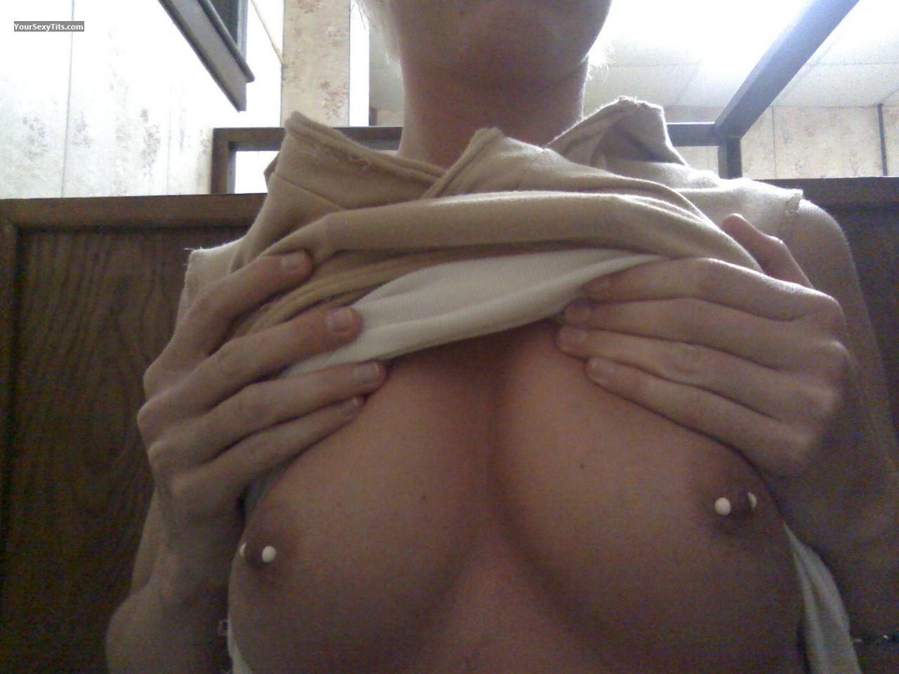 My Small Tits Selfie by Blondie