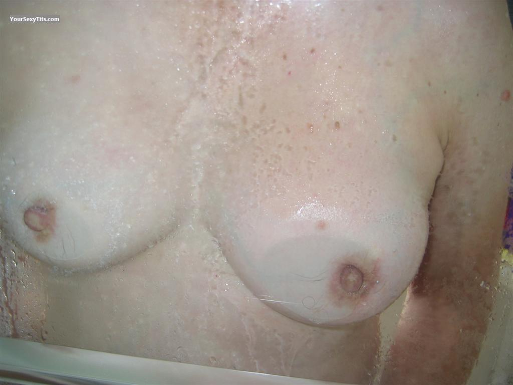 Tit Flash: Small Tits - Red from United States