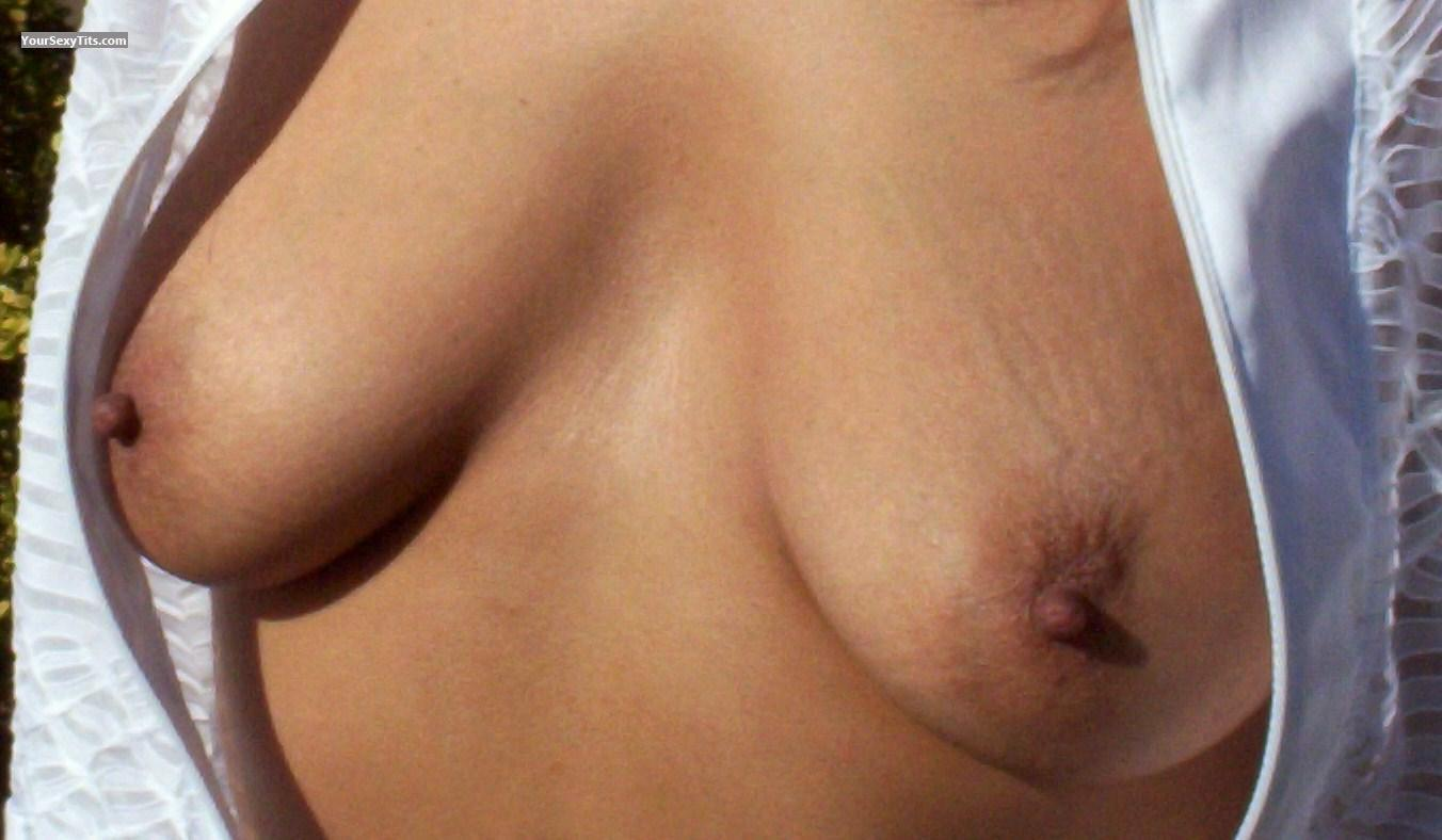 Tit Flash: Small Tits - Terri from United States