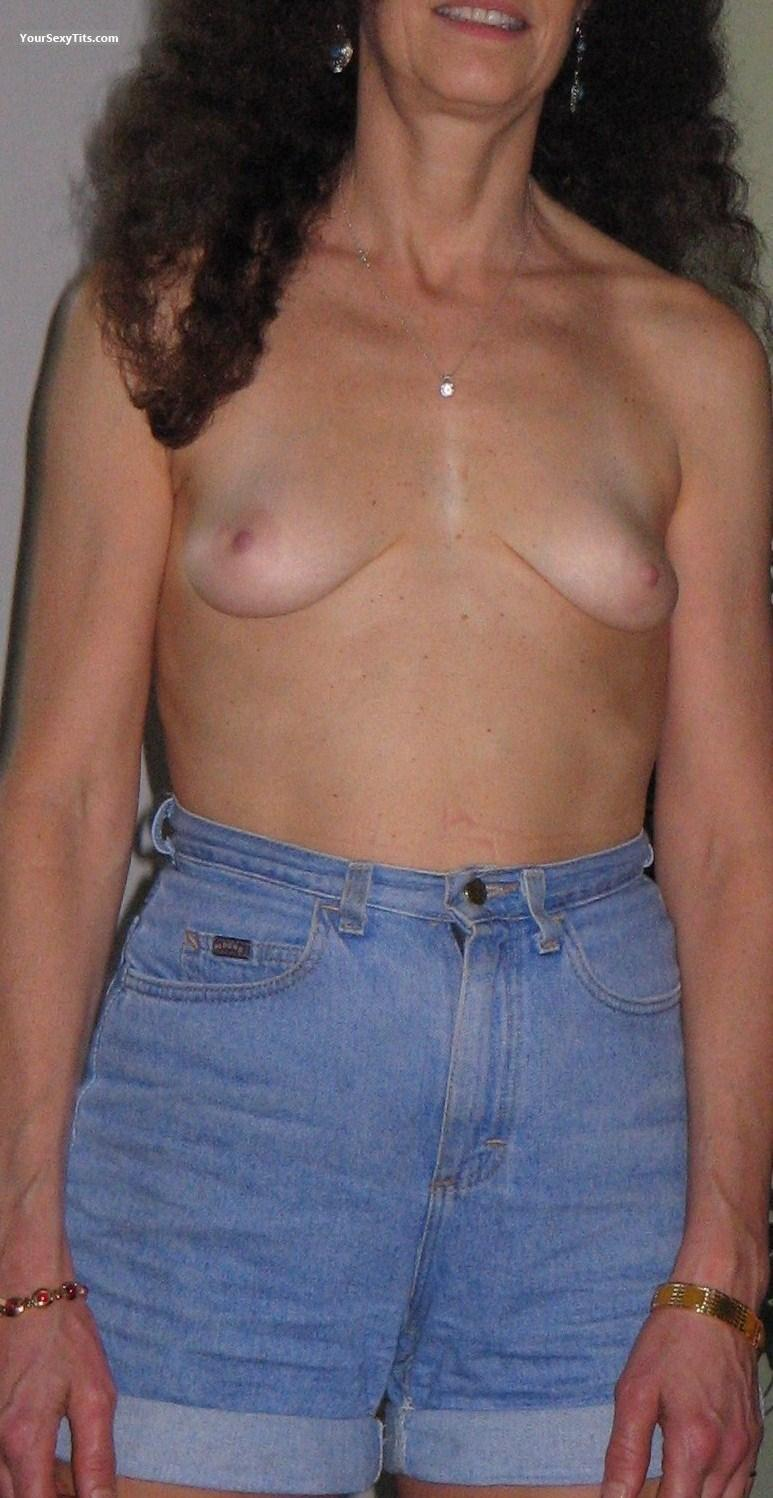 Tit Flash: Small Tits - French Kitten from France