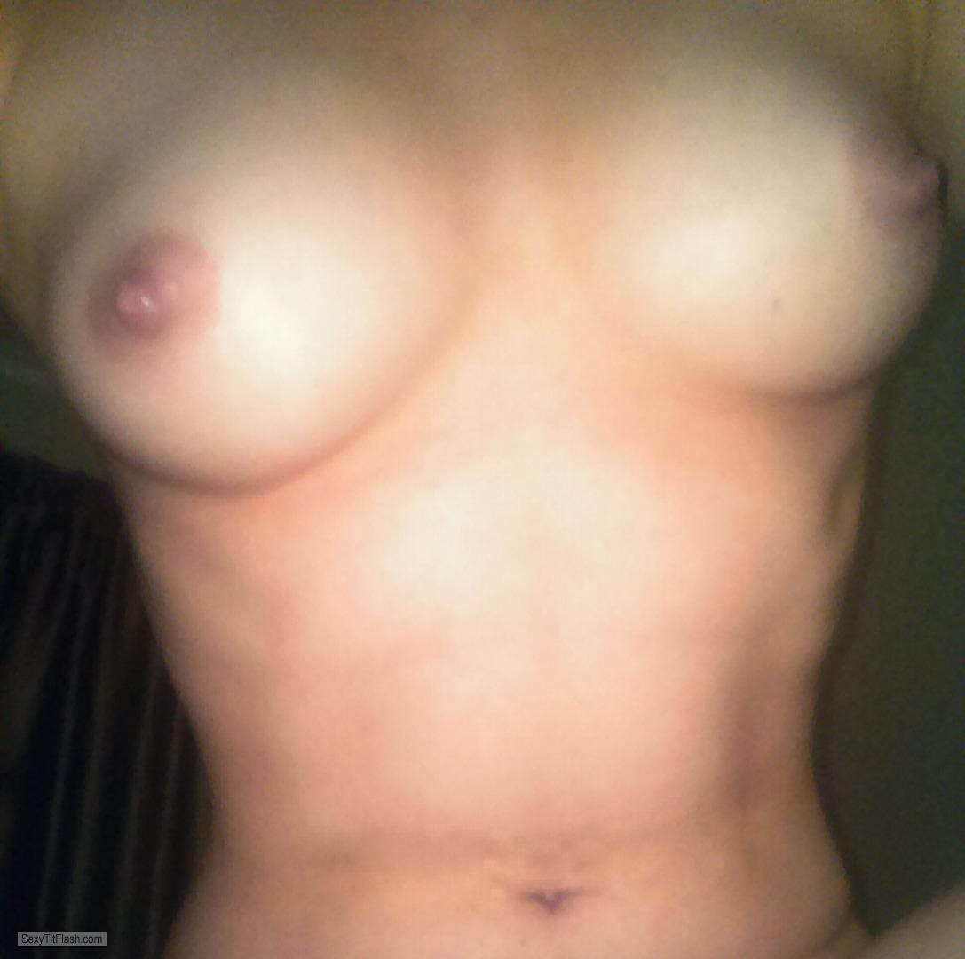 Tit Flash: My Small Tits (Selfie) - Sweetesttitties from United Kingdom