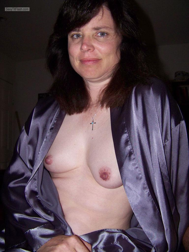 Tit Flash: My Small Tits - Topless Realtilf3 from United States
