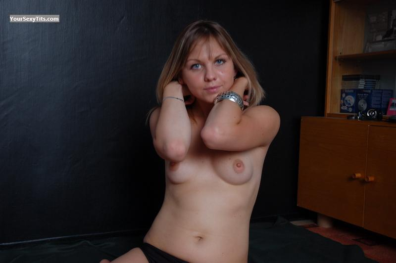 Tit Flash: Small Tits - Topless Sperodum from Switzerland