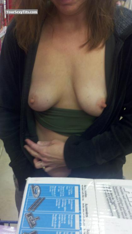 Tit Flash: My Small Tits - ShyOhGirl from United States