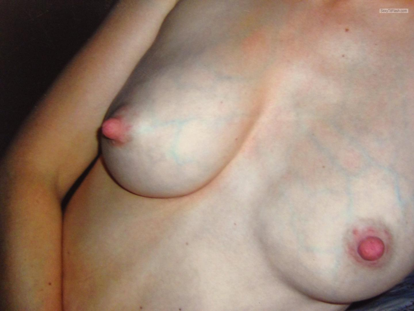 Tit Flash: My Small Tits - Lelly from United States
