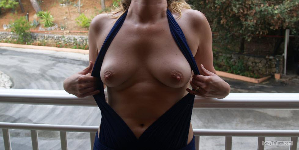 Small Tits Of My Wife PJ.