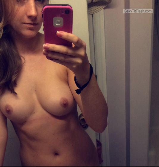 ex girlfriend s tanlined small tits   anonymous from