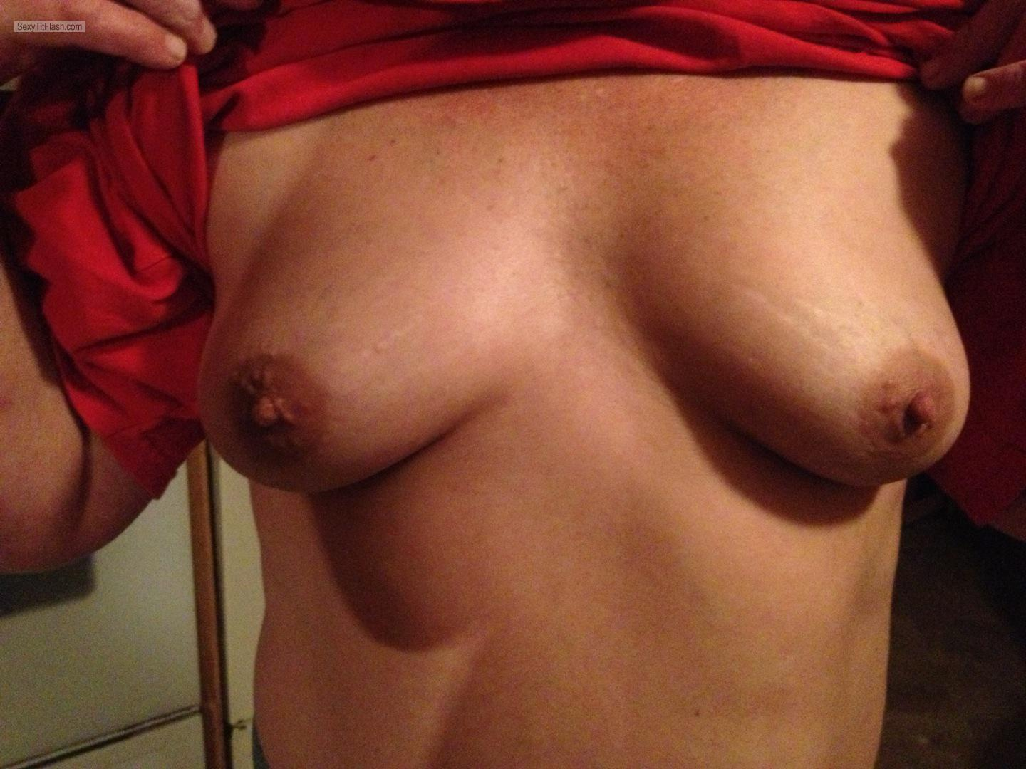 Small Tits Of My Wife NipLip