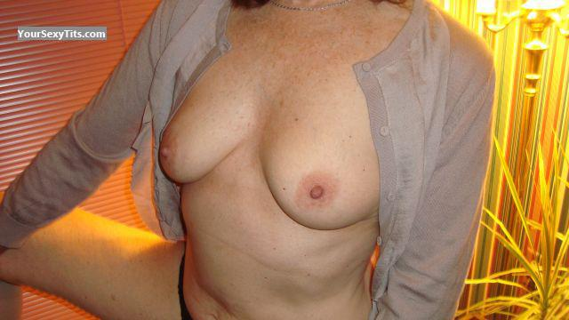 Small Tits Of My Wife Debbie