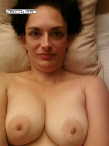 My Small Tits Topless Selfie by Melanie