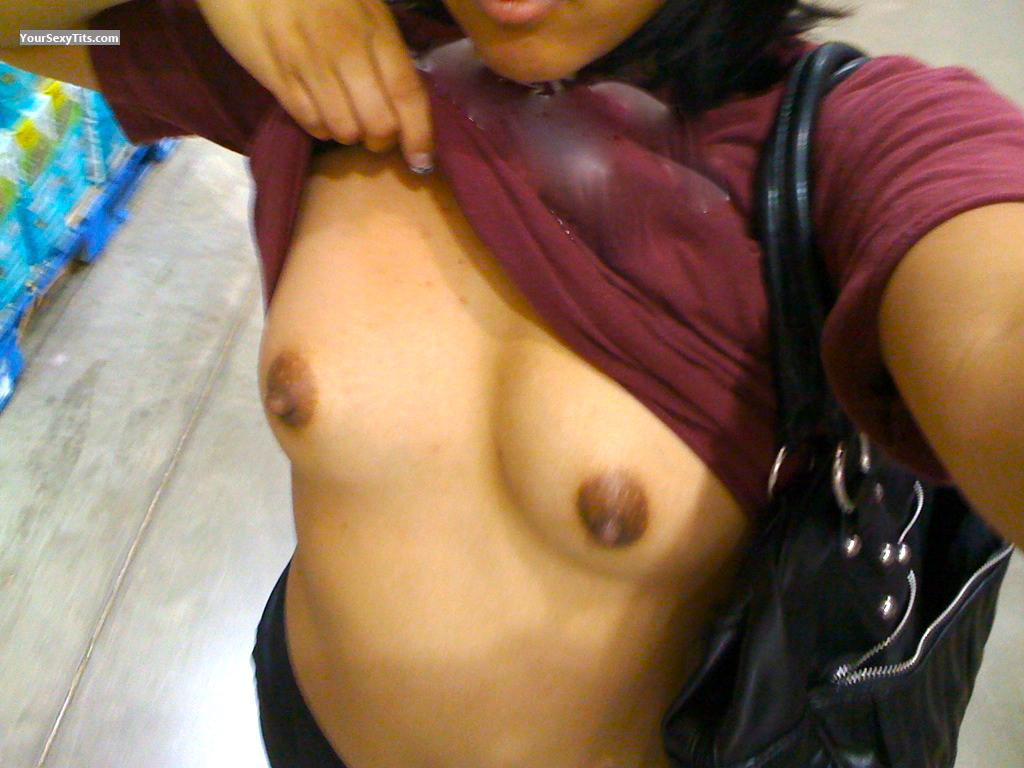 My Small Tits Selfie by BluByrd