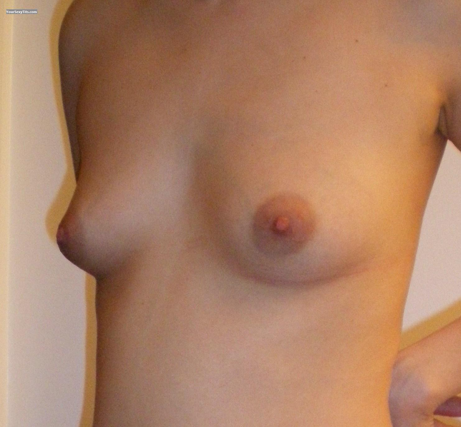 Tit Flash: Small Tits - Metis Girl from Canada